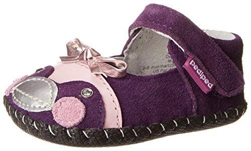 Pediped Originals Penguin Crib Shoe (Infant/Toddler),Purple,Large (18-24 Months)