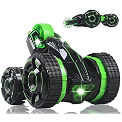 Five Wheels RC Stunt Car Remote Control Racing Vehicle