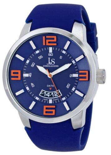 Joshua & Sons JS64BU - Reloj para hombres