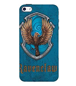 PrintDhaba Eagle D-5120 Back Case Cover for APPLE IPHONE 5S (Multi-Coloured)