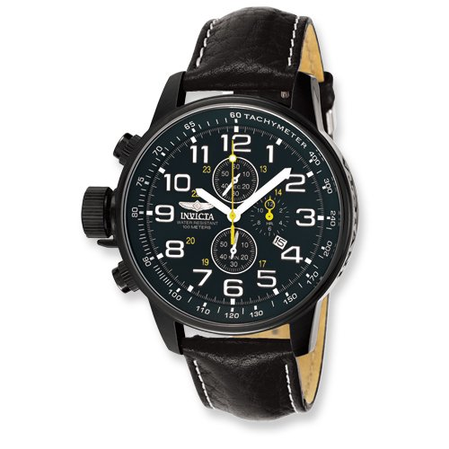 Mens Invicta Force Lefty Chrono Black Dial Watch