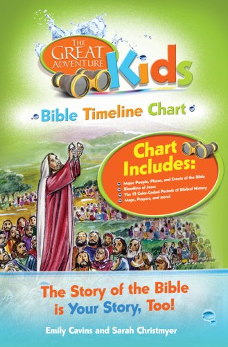 Great Adventure Kids Bible Timeline Chart