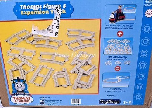 Peg Prego Thomas Train Ride On Figure 8 Expansion Track Pack