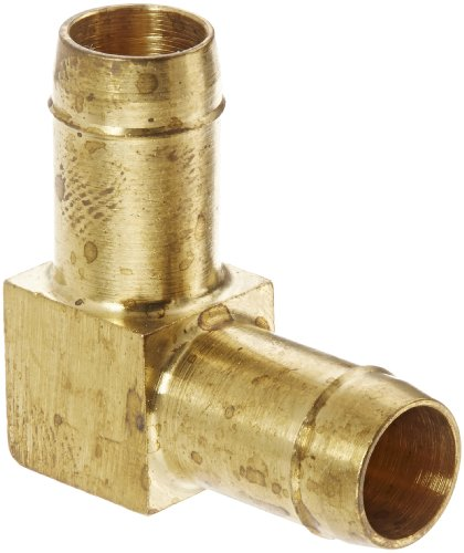 "Eaton Weatherhead 1065X8 Brass Ca360 Mini-Barb Brass Fitting, Union Elbow, 1/2"" Tube Od front-592459"