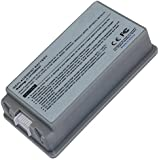 "Replacement Battery for Apple PowerBook G4 15"" A1148 A1078 A1045 M9756 (Silver, 10.8V, 4400mAh)"