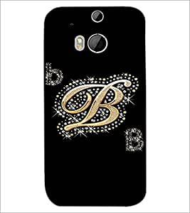 HTC ONE M8 S B Designer Back Cover Case By PRINTSWAG