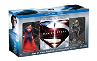 Man of Steel Collectible Figurine Limited Edition Gift Set (Blu-ray + DVD + Ultra Violet Combo) by Warner Bros.