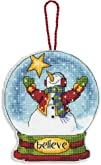 Dimensions Crafts Counted Cross Stitch Ornament Believe