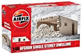 Airfix A75009 Afghan Single Storey Dwelling Model Building Kit, 1:48 Scale