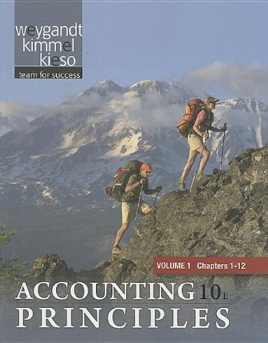 Paperback Volume 1 of Accounting Principles Chapters 1-12