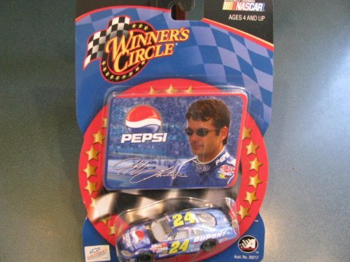 2003 Talladega Jeff Gordon #24 Dupont Pepsi Shards 1/64 Scale & Collectors Photo Card Insert Winners Circle