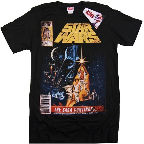 Star Wars The Saga Continues Original Ticket Stub T-Shirt