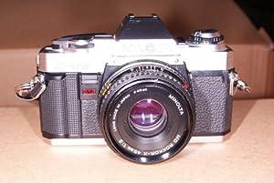 Minolta X-370 film camera SLR with lens from Minolta