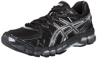 ASICS Men's Gel Kayano 20 Running Shoe,Black/Onyx/Black,6 M US