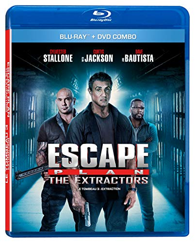 Blu-ray : Escape Plan 3: The Extractor / Le Tombeau 3 (2 Discos)