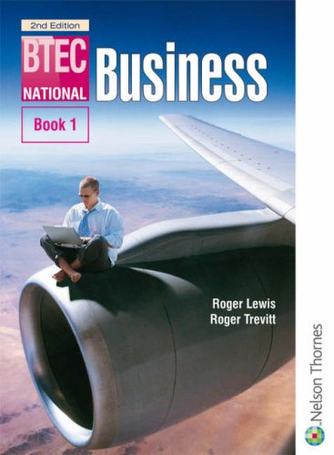 BTEC National Business: Bk. 1