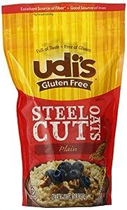 Udi's Steel Cut Oats - Plain - 16 OZ