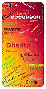 Dharitri (Popular Girl Name) Name & Sign Printed All over customize & Personalized!! Protective back cover for your Smart Phone : Samsung Galaxy Note-4