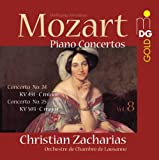 echange, troc  - Intégrale des Concertos pour piano vol.8 : Concertos nos 24 & 25