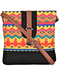 All Things Sundar Women's Sling Bag (Multi-Coloured, S14-70)