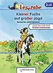 Leserabe - Kleiner Fuchs auf gro�er J...