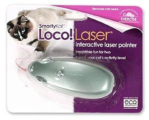 SmartyKat Loco! Laser Cat Toy Interactive Laser Pointer