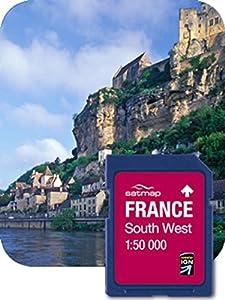 Satmap GPS System Karte 1:50000 Frankreich: Südwesten, FR-CY-50-SD-004