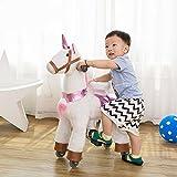 TODDLER TOYS Unicorn Pony Rocking Trotting Horse Ride On Cycle Giddy Up Cowboy! Ages 2-5