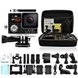 GeekPro® 3.0 WIFI HD 1080P Action Camera 12MP Shockproof Carrying Bag Waterproof Sports Action Camera Accessory Bundles