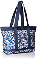 LeSportsac Medium Travel Tote Bag, Blooming Silhouettes, One Size