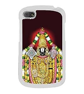 Lord Balaji Venkateshwara 2D Hard Polycarbonate Designer Back Case Cover for BlackBerry Q10