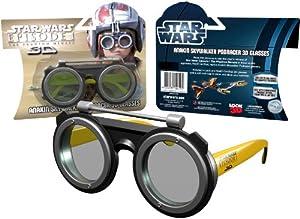 Star Wars 3D Glasses - Episode 1 - The Phantom Menace - Limited Edition Podracer 3D Glasses
