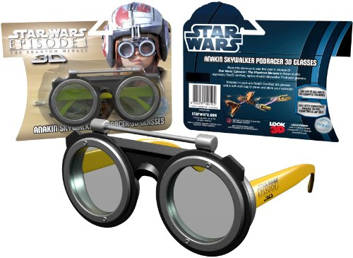 Star Wars 3D Glasses - Episode 1 - The Phantom Menace - Limited Edition Podracer 3D Glasses