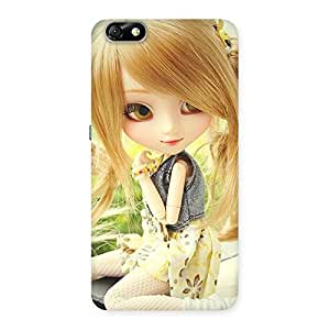 Impressive Cute Smiling Doll Multicolor Back Case Cover for Honor 4X