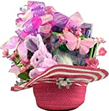 Pretty in Pink Easter Gift Basket for Girls