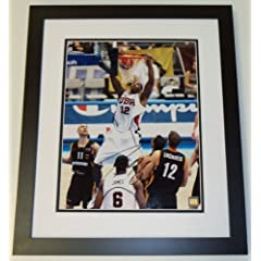 Dwight Howard Autographed Hand Signed TEAM USA 11x14 inch Photo - CUSTOM FRAME -... by Real Deal Memorabilia