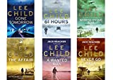 Lee Child Jack Reacher Collection 13-18, Gone Tomorrow, 61 Hours, Worth Dying For, The Affair, A Wanted Man and Never Go Back. 6 Book Set Lee Child