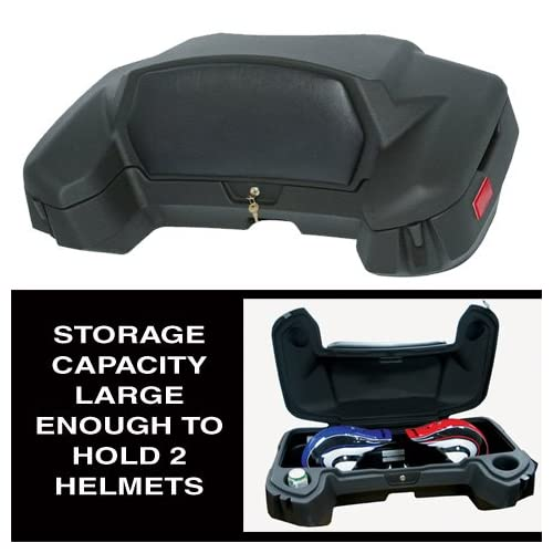 Wes 126-0015  Wes Cargo Box With Backrest