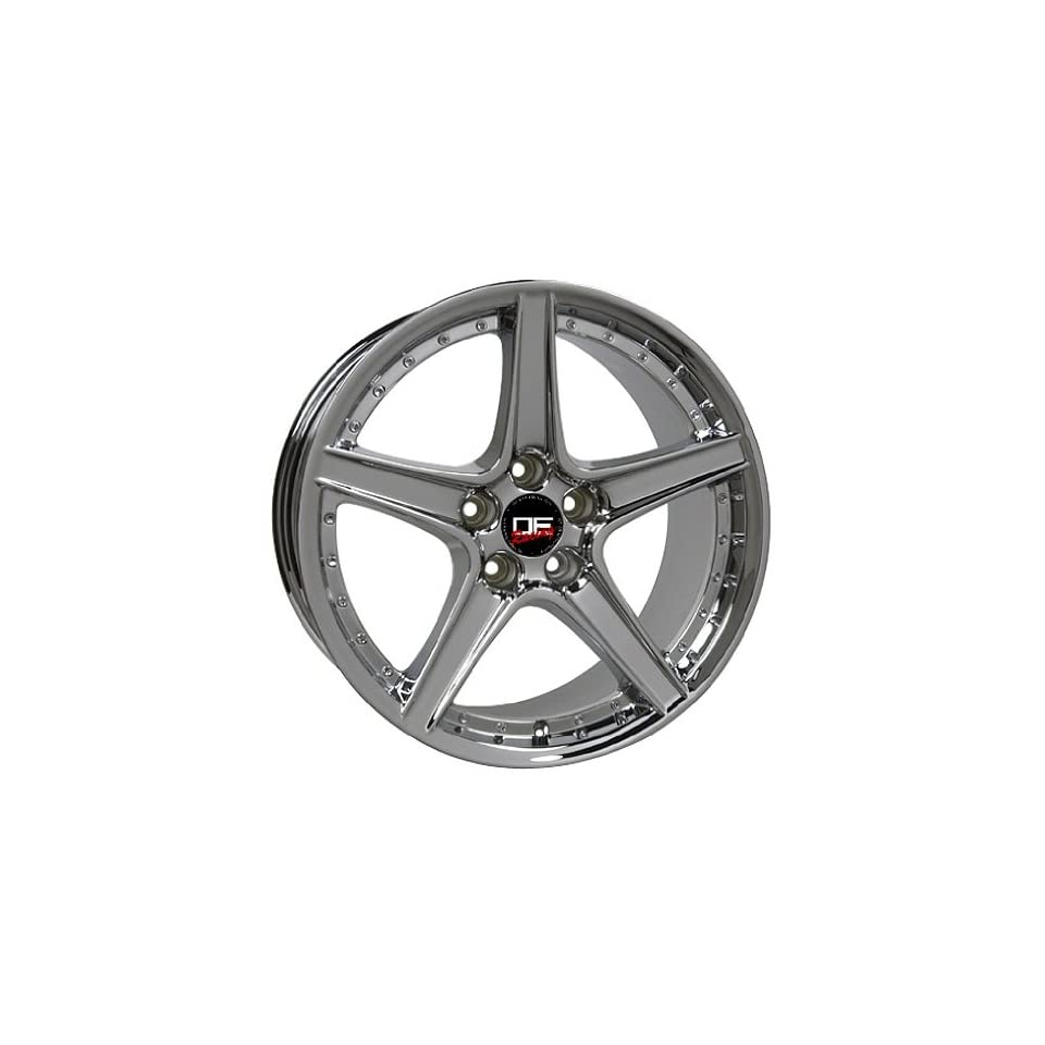 (4) SALEEN STYLE CHROME FORD MUSTANG S281 18 INCH WHEELS RIMS