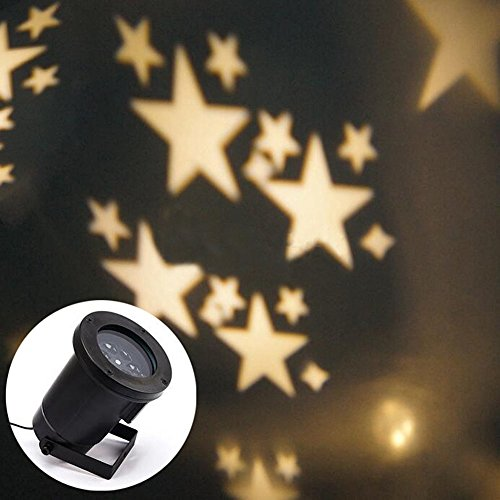 Proiettore Luci Natalizie Interno.Gesimei Led Proiettore 12 Immagini Di Natale Da Esterno Su Facciata