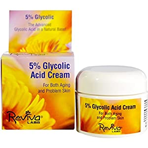 Reviva Labs, 5% Glycolic Acid Cream, 1.5 oz (42 g)
