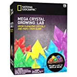 Mega Crystal Growing Lab - 8 Colors to Grow with Night Light Display Stand!
