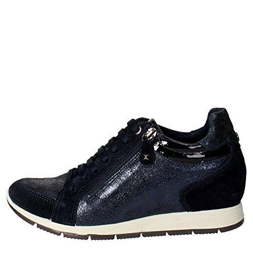 Imac 63371 Sneakers Donna Camoscio Blu Blu 36