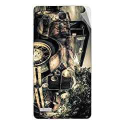 Miicreations Mobile Skin Sticker For Xiaomi Redmi Note,Vintage Car