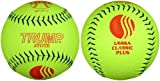 Trump® MP-CP-Y 12 Inch 52/275 USSSA Classic Plus Pebble Grain Leather Softball (Sold by the DZ.)