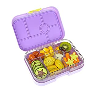 yumbox leakproof bento lunch box container lavande purple for k. Black Bedroom Furniture Sets. Home Design Ideas
