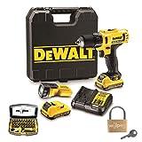 DeWALT Akku-Bohrschrauber DCD710D2F-QW mit Koffer