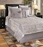 Park B. Smith Nairobi Comforter Set, Silver, Queen