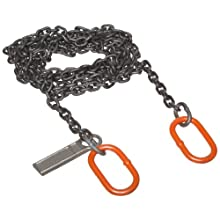 Mazzella CO Welded Alloy Chain Sling, Fixed-Leg, Grade 80, Vertical Load Capacity