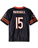 NFL Chicago Bears Youth Player Name and Number Team Replica Jersey, Youth X-Large (14/16), Deep Obsidian